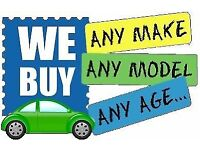 We Buy Any Make Any Model Any Age