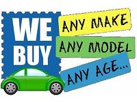 WE BUY YOUR CAR CASH PAID ON THE SPOT £100 - £2000