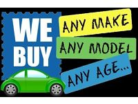 WE BUY ANY CAR TOP PRICES PAID CALL NOW FOR QOUTE AND SAME DAY PICK UP £££££