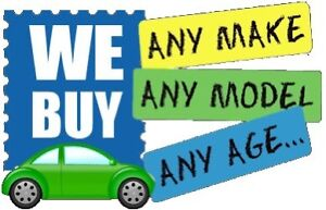 Cash for cars - sell your old car - we buy junk cars