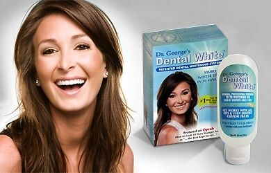 Dr Georges Teeth Whitener Home DIY Tooth Whitening Kit