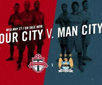 Toronto FC vs. Manchester City 3 tickets in a row $75
