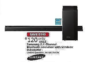 Samsung M 430 290-Watt 2.1 Channel Sound Bar Soundbar