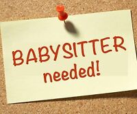 Occasional Babysitter Available