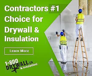 Fort McMurray & Surrounding Area Trusted Drywall & Insulation Supplier | Servicing Contractors & Taking Care of the DIY