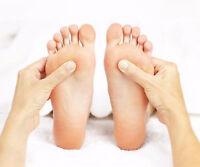 Mal au dos, au pied, stressé? Essaie la réflexologie des pieds!