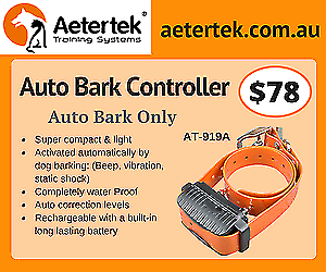 Aetertek bark collar anti bark collar STOP DOG BARKING DEVICE
