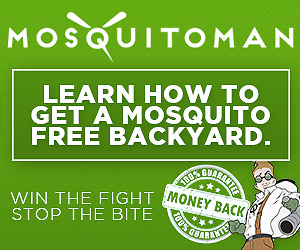 Mosquito and Tick FREE Backyard! Call now and save!
