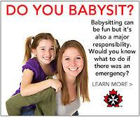 Babysitter Basics with St. John Ambulance