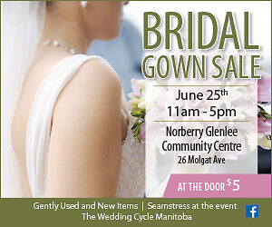 the city 1st Wedding gowns' sale