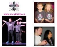 Does your kid love to perform? Register now for Rockit Kids!