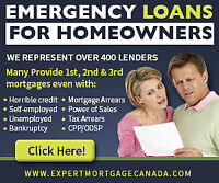 Get 1st, 2nd and 3rd mortgages Even with Bankruptcy In Brantford