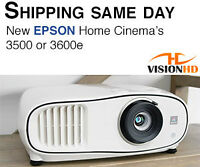 PROJECTEUR EPSON 3500 2D/3D Full HD 1080p 3LCD HDMI Projector