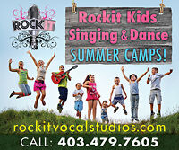 Weekly Singing and Dance Lessons & camps for Kids