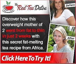 Little-known Ancient African Secret Red Tea Recipe Helps Melt Fat Fast!