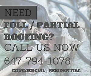 Need Residential or Commercial Roofing in Toronto?