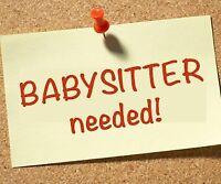 Babysitter One day a Week