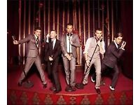 The Overtones, Sheffield City Hall , Friday 15th Dec, 2x stall tickets for sale