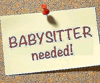 I am looking for a babysitter