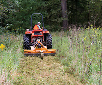 Land clearing farm fencing