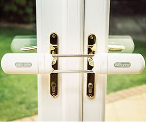 French Door Security System