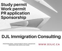 Professional assistance with immigration applications