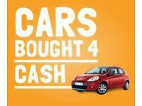 Cars bought for cash - bmw audi fiat nissan renault vauxhall toyota seat volkswagen etc