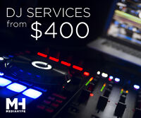 DJ Services - $400 - FREE Uplighting