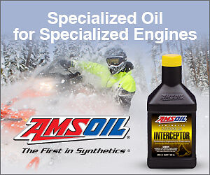 Synthetic AMSOIL Snowmobile Oil