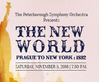 Peterborough Symphony Orchestra presents The New World