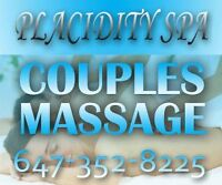 RMT Massage / Couples Massage in Aurora - Placidity Luxury Spa