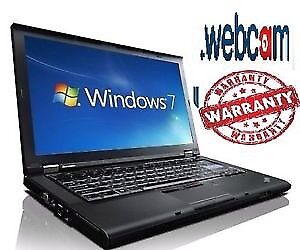 Cheap WINDOWS 7 LENOVO WEBCAM Laptop FAST Dual Core Warranty Wireless