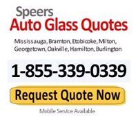 Windshield replacement for many popular models $177