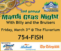 The Fluvarium's 2nd Annual Mardi Gras