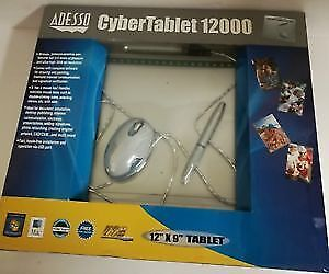 Adesso Cyber Tablet 12000 : like New : Original Box:TABLET