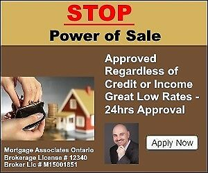 Stop Power of Sale - Stop Foreclosure Now - Private Mortgages
