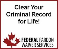 Clear your Criminal Record NOW before the laws change!