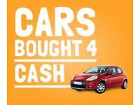 Cash paid for cars ££££