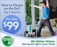 Mobile Fitness and Nutrition Coach - 3 sessions for just $99!