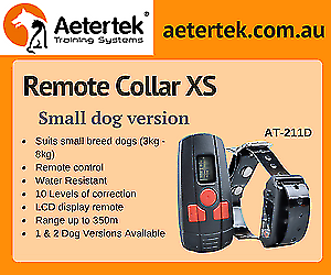 Aetertek AT-211D 1 Dog Remote Training collar for small dogs cats