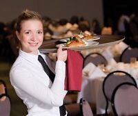 Hiring for part time weekends - Servers