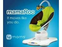The 4moms mamaRoo Plush Infant Seat