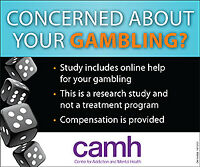 Concerned about your gambling?