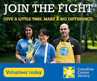 Volunteer Videographer for the Canadian Cancer Society