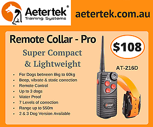 Aetertek 216D multiple Dog Remote Training collar bark control