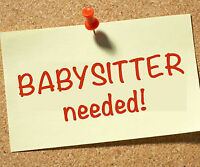 Casual babysitter wanted