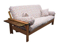 BARGAIN! Beautiful Wooded Sofa bed £10!!!