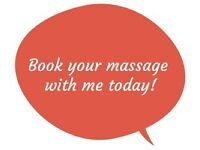 Book your 1h.30min Deep Massage for the weekend and Bank holiday for Only £65 TODAY