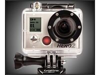 GoPro action cam with accessories