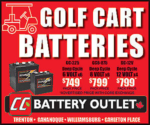 GOLF CART/DEEP CYCLE BATTERIES